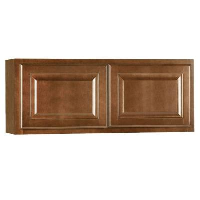 36x15x12 in. Hampton Wall Cabinet in Cognac Product Photo
