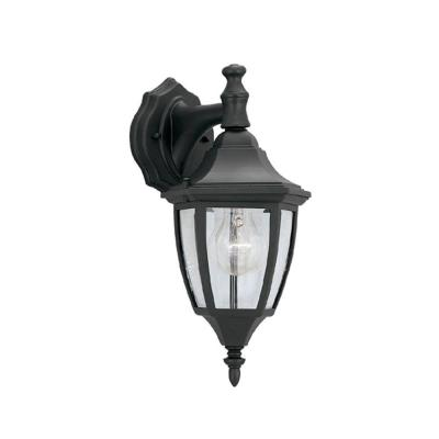 Designers Fountain Waterbury Collection Wall Mounted Outdoor Black Lantern