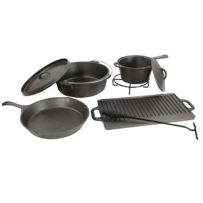 Sportsman 8-Piece Cast Iron Cookware Set -DISCONTINUED