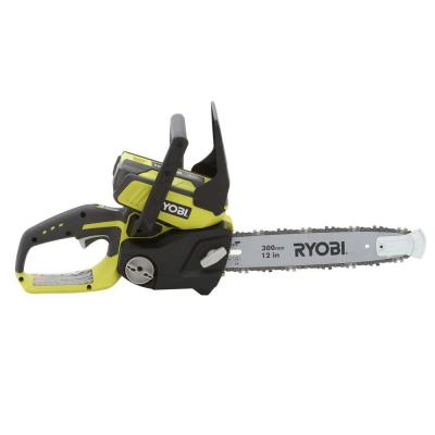 Ryobi 12 in. 40-Volt Lithium-Ion Electric Cordless Chainsaw