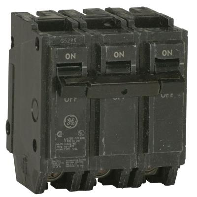 Q-line 30 Amp 3 in. Tripple-Pole Circuit Breaker Product Photo
