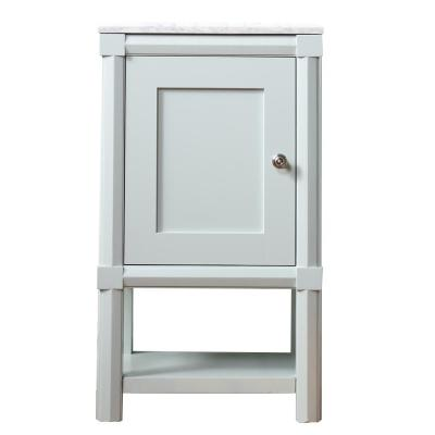 Martha Stewart Living Sutton 15 in. W x 20 in. D x 34.5 in. H One Door Small Side Unit in Rainwater