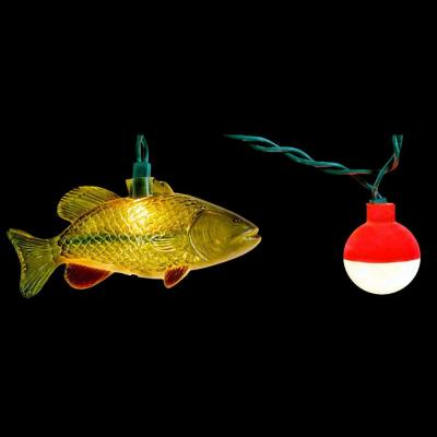 null 10-Light String of Fish Novelty Light Set