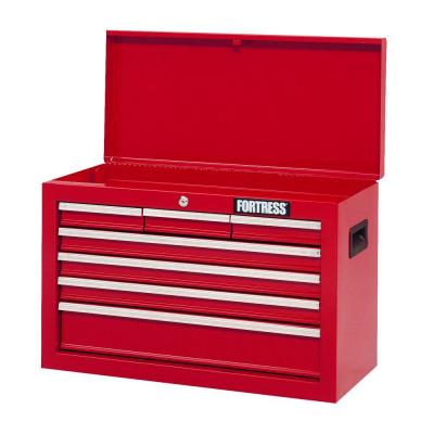 Fortress 26 in. Wide 7-Drawer Top Chest