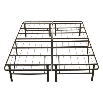 Full-Size Rest Rite Metal Platform Bed Frame-MFP00112BBDB - The Home ...