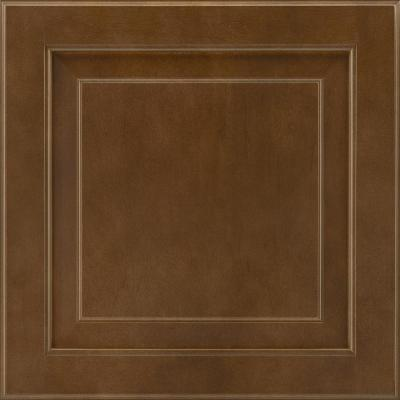 14-9/16x14-1/2 in. Cabinet Door Sample in Charlottesville Maple Truffle