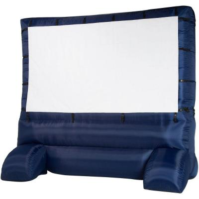 12 ft. Inflatable Diagonal Widescreen Airblown Deluxe Movie Screen by Gemmy