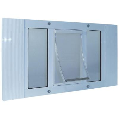 5 in. x 7 in. Small Original Frame Door for Installation into 23 in. to 28 in. Wide Sash Window Product Photo