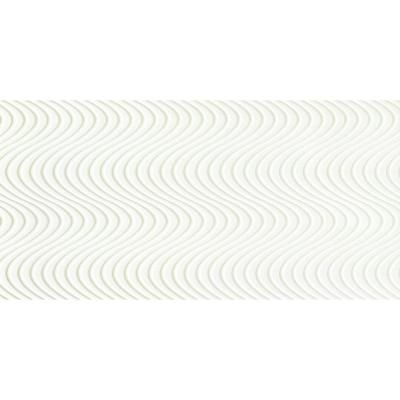 SURFACE Wave White 12 in. x 24 in. Porcelain Wall Tile (15.36 sq. ft. / case) Product Photo