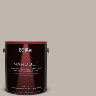 Home Decorators Collection 1-gal. #HDC-CT-21 Grey Mist Flat Exterior Paint