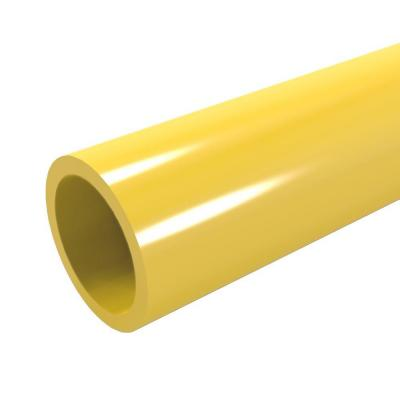 Formufit 1-1/4 in. x 5 ft. Furniture Grade Sch. 40 PVC Pipe in Yellow