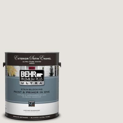 1-Gal. #UL250-13 White Opal Satin Enamel Exterior Paint