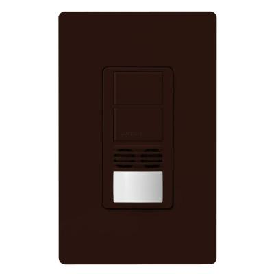 Maestro 6-Amp 3-Way Dual-Circuit Dual-Tech Occupancy Sensor Switch - Brown Product Photo