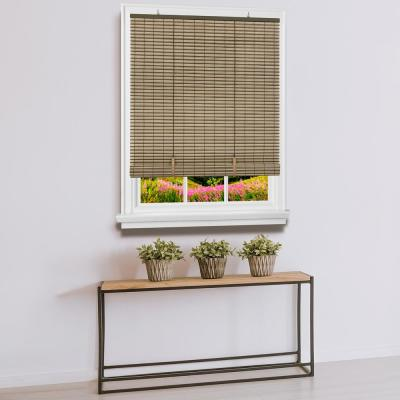 Veranda Cordless 1/4 in. Vinyl Roll-Up Blind