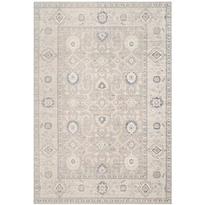 Patina Taupe/Ivory 6 ft. 7 in. x 9 ft. Area Rug
