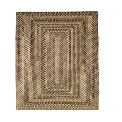 Applause Concentric River Rock 5 ft. 6 in. Square Area Rug