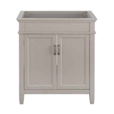 Foremost Ashburn 30 in. W x 21.63 in. D Vanity Cabinet in Grey
