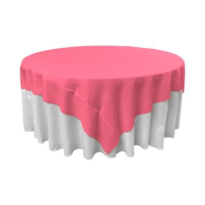 72 in. x 72 in. Polyester Poplin Square Tablecloth