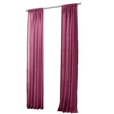 Marine No. 918 Millennial Laguna Sheer Rod Pocket Curtain Panel, 50 in. W x 95 in. L Product Photo