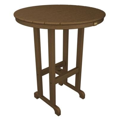 Monterey Bay Tree House 36 in. Round Patio Bar Table