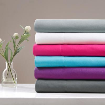 ID Microfiber Solid Color Microfiber Sheet Set
