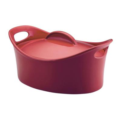 Rachael Ray Casseroval 4.25 Qt. Casserole Dish with Lid