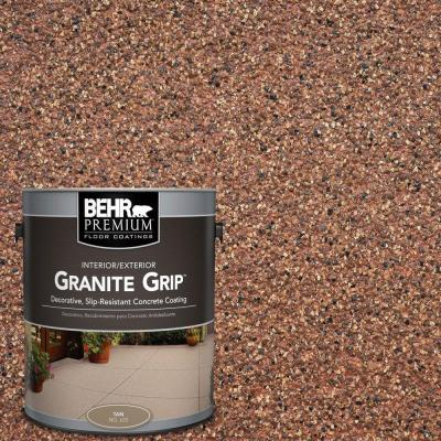 1 gal. #GG-09 Sunset Ridge Granite Grip Decorative Concrete Floor Coating