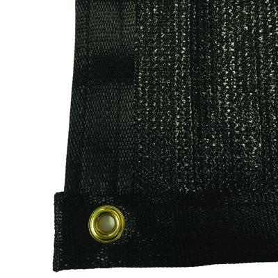 5.8 ft. x 150 ft. Black 88% Shade Protection Knitted Privacy