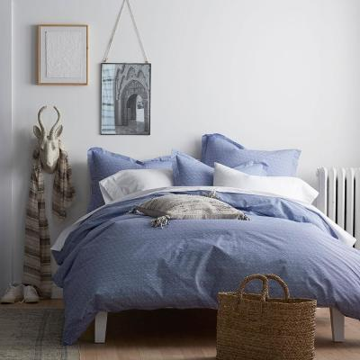 On Point 200-Thread Count Organic Cotton Percale Duvet Cover