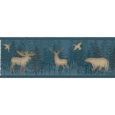 6 in. Saylorville Blue Lawndale Border Product Photo