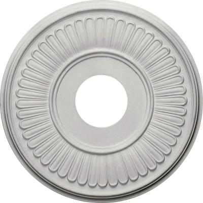Ekena Millwork 15-3/4 in. O.D. x 3-7/8 in. I.D. x 3/4 in. P Berkshire Ceiling Medallion