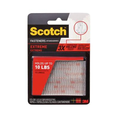 Scotch 1 in. x 3 in. Clear Extreme Fasteners