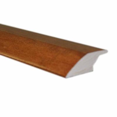 Oak Spice 3/8 in. Thick x 2-1/4 in. Wide x 78 in. Length Hardwood Lipover Reducer Molding Product Photo