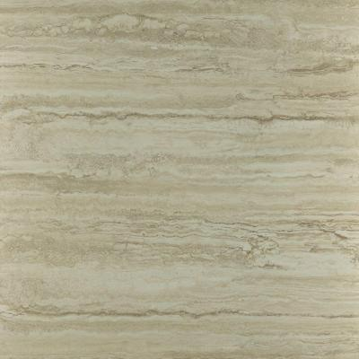 Roman Travertine Beige Resilient Vinyl Tile Flooring - 12 in. x