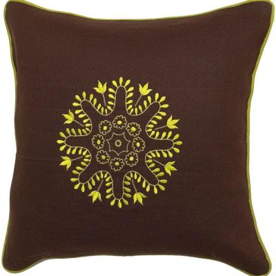 Artistic Weavers Center4 18 in. x 18 in. Decorative Down Pillow -DISCONTINUED
