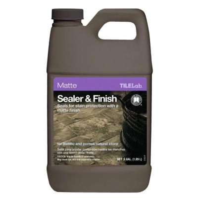TileLab 1/2 Gal. Matte Sealer and Finish Product Photo
