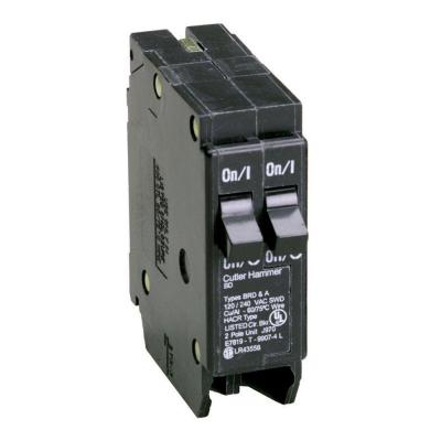 BR Type 15/15 Amp Single-Pole BD Tandem Circuit Breaker Product Photo