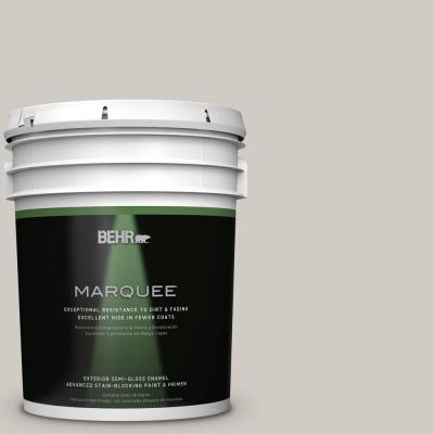 BEHR MARQUEE 5-gal. #PPU18-9 Burnished Clay Semi-Gloss Enamel Exterior Paint