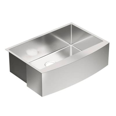 MOEN 1800 Series Apron Front Stainless Steel 30 in. Single Basin Kitchen Sink