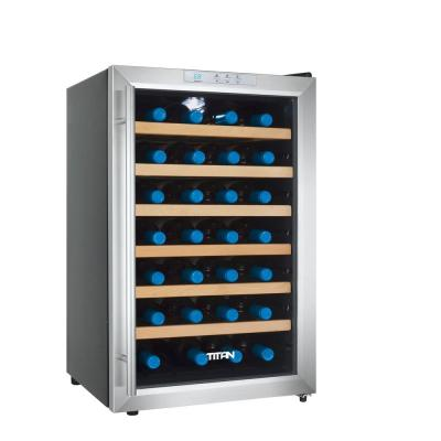 TiTAN 28-Bottle Single Zone Thermoelectric Wine Cooler
