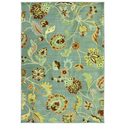 American Rug Craftsmen Sol Star Green Slate 9 ft. 6 in. x 12 ft. 11 in. Area Rug
