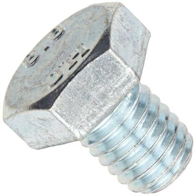3/8 in. x 1-1/2 in. Zinc-Plated Grade 5 Hex Bolt (5-Pack)