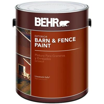 BEHR 1-gal. Red Exterior Barn and Fence Paint
