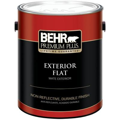 1-gal. Ultra Pure White Flat Exterior Paint