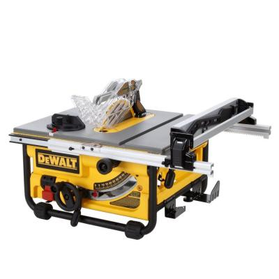 Dewalt 15 amp 10 in compact job site table saw dw745 for 10 dewalt table saw