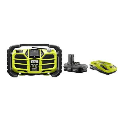 Ryobi 18-Volt One+ Stereo with..