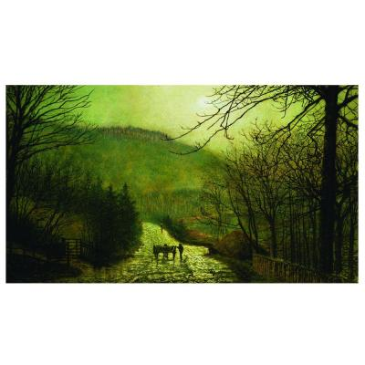 Trademark Fine Art 18 in. x 32 in. 'Forge Valley' Canvas Art