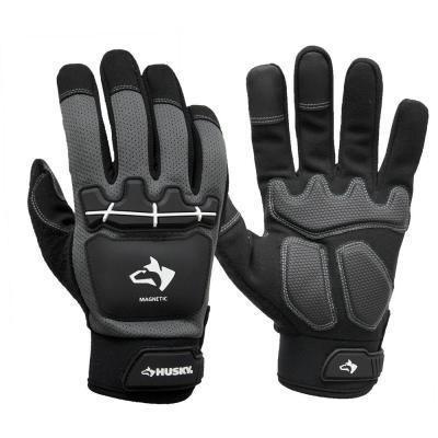 Heavy Duty Impact Magnetic Mechanics Glove