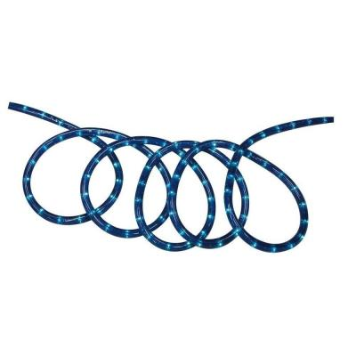18 ft. Blue Incandescent Rope Light Kit Product Photo