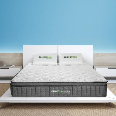 Flex 13 in. Medium Firm Gel Memory Foam Pillow Top Hybrid Mattress